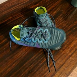 Nike trail running shoes, practically new